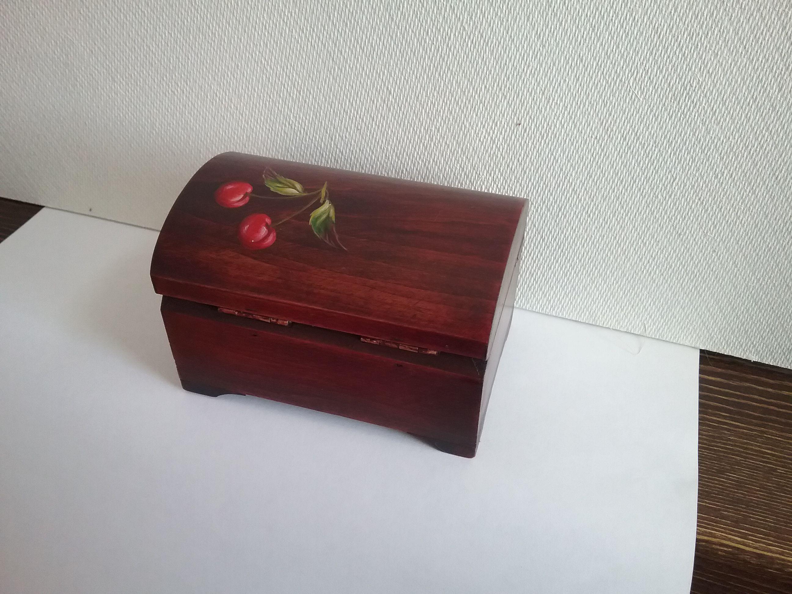 подарок флешки шкатулка роспись деревянная дерево