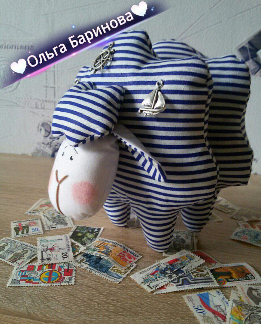 своими текстильная барашек тильда кукла игрушка руками