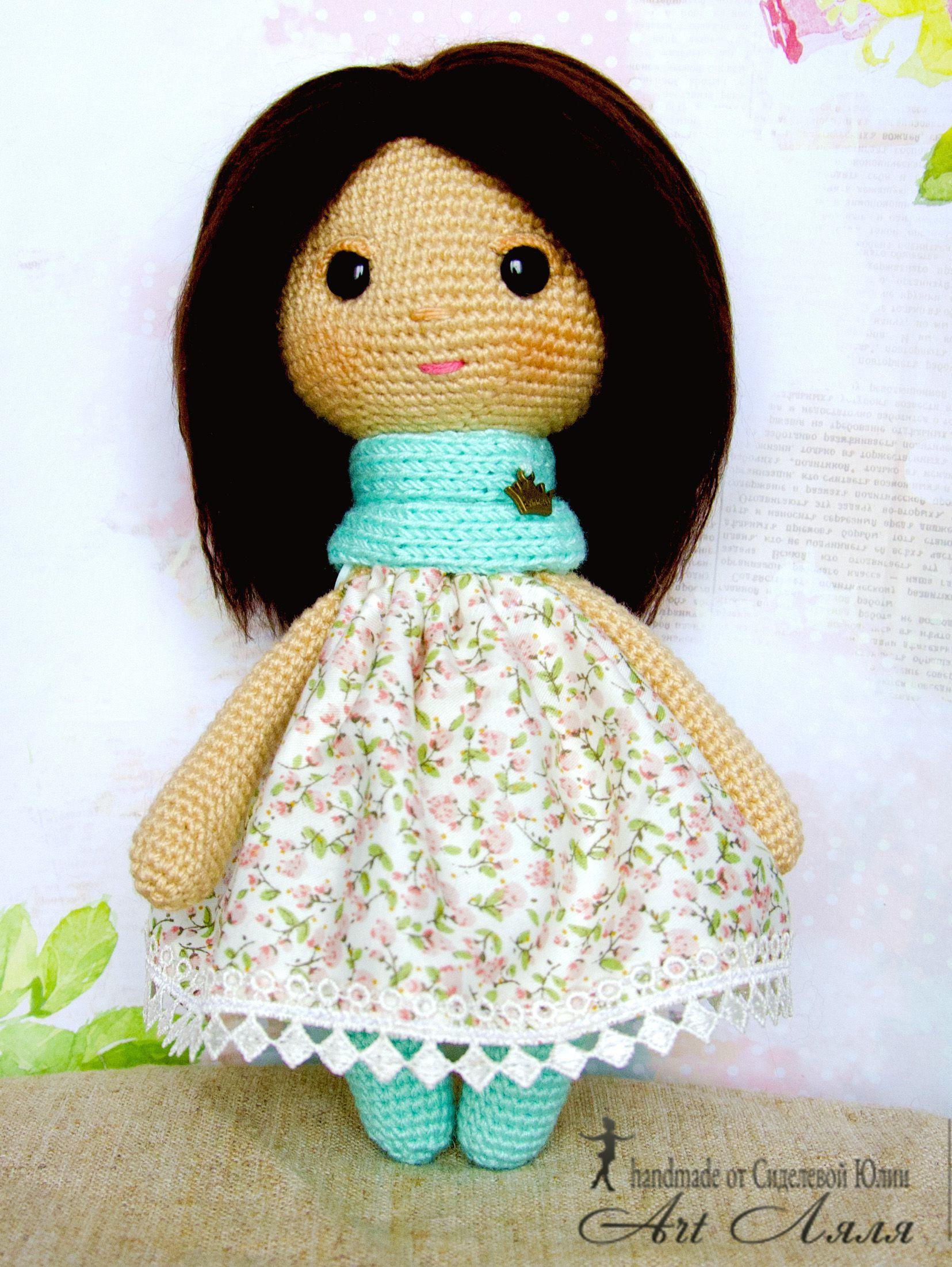 handmade девочке игрушка кукла подарок
