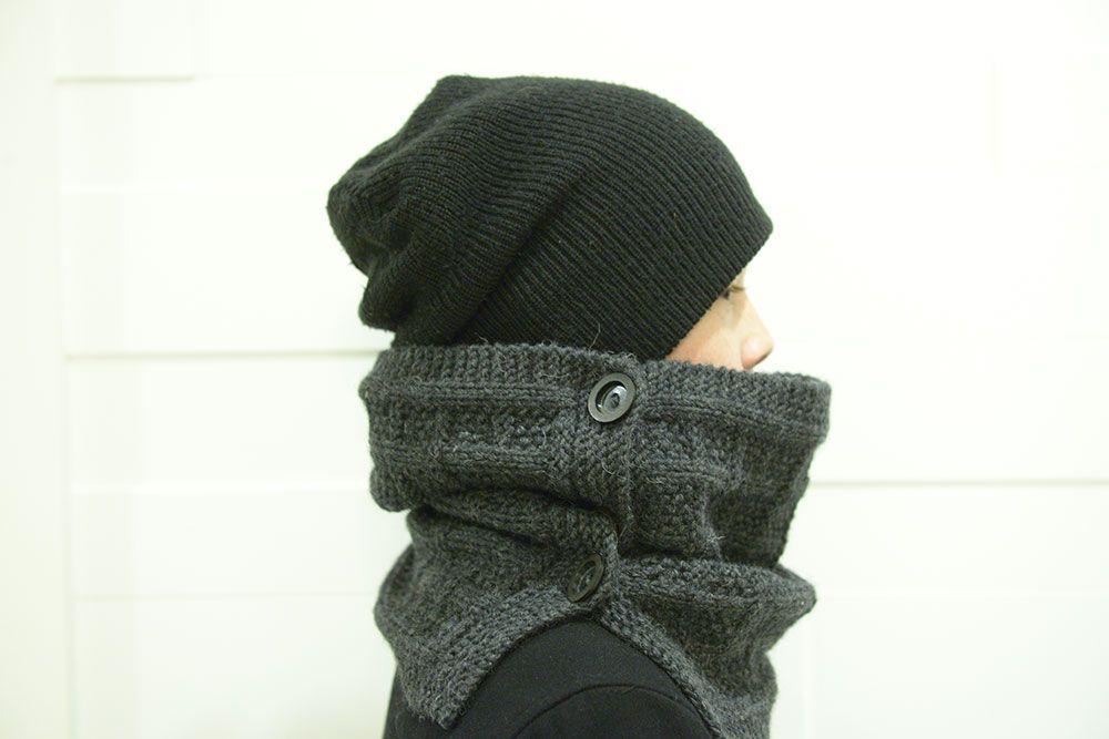 шарф_вязанный мужской_шарф вязание_спицами ручнаяработа снуд handmade шарф рукоделие шарфик
