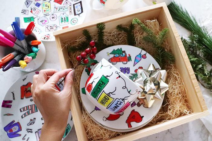 сувенир новыйгод посуда подарок