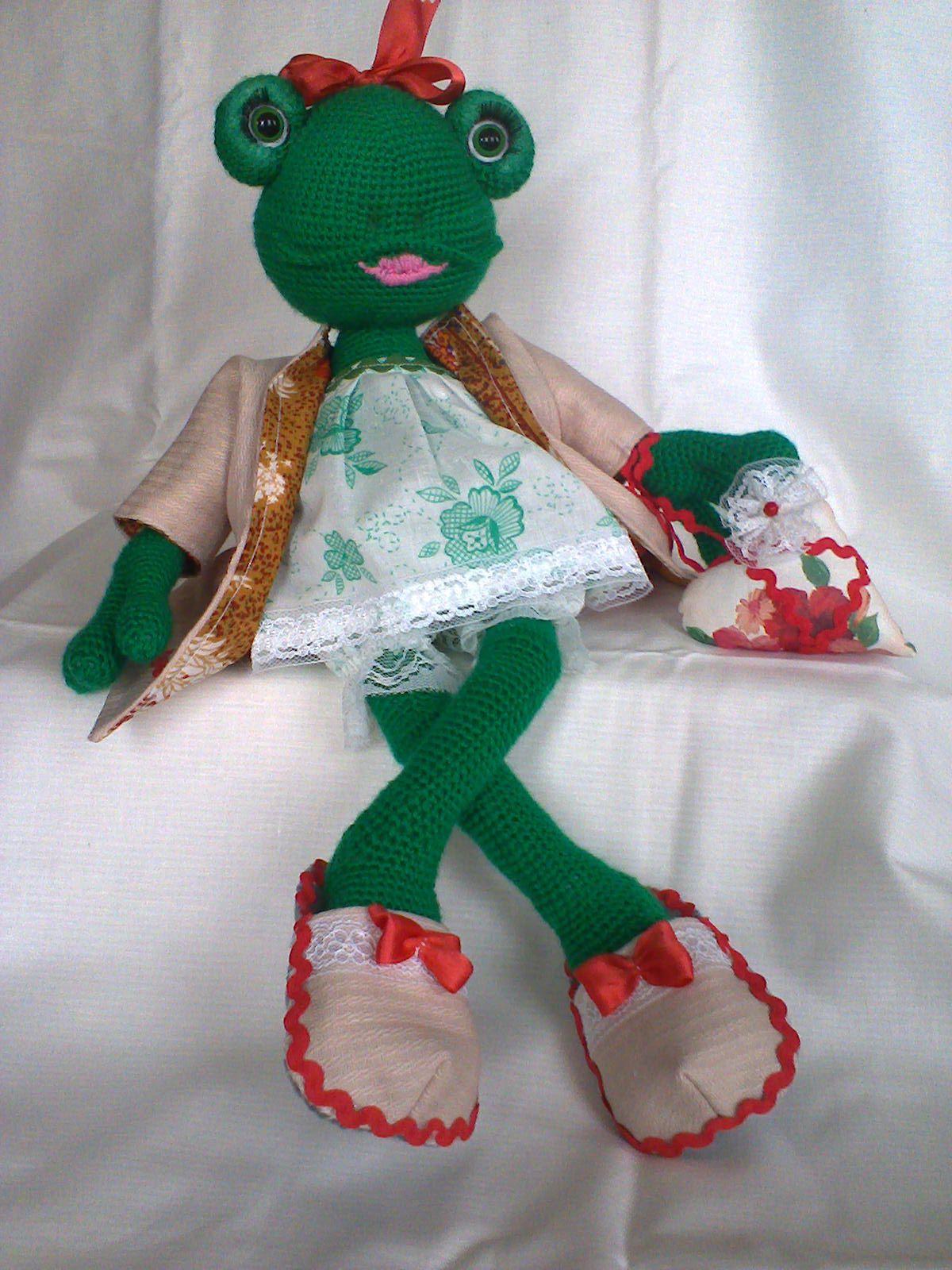 игроваякукла своимируками лягушка игрушкисвоимируками