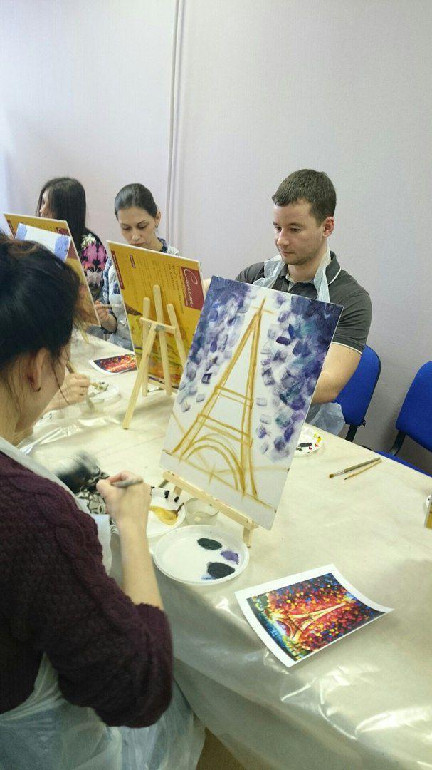 мастеркласс маслом обучение живопись