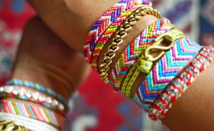 плетение фенечки стиль этно