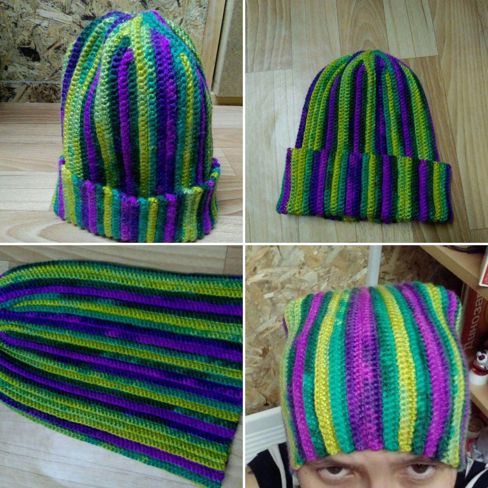 шапки зверошапка вязаные бини