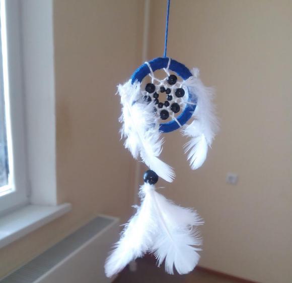 талисман ловецснов ловец ловушка брелок для снов маленькийловецснов украшение маленький ручнаяработа амулет спальня подарок