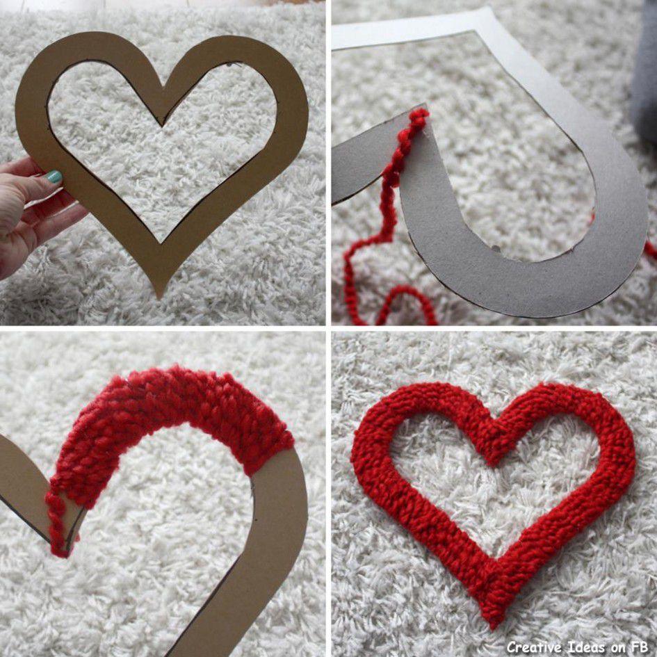 Сердце своими руками для украшения