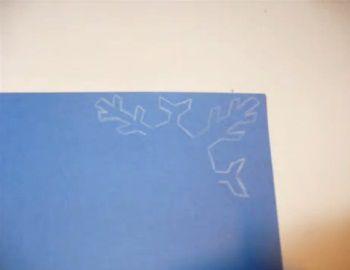Рождественские открытки своими руками 4