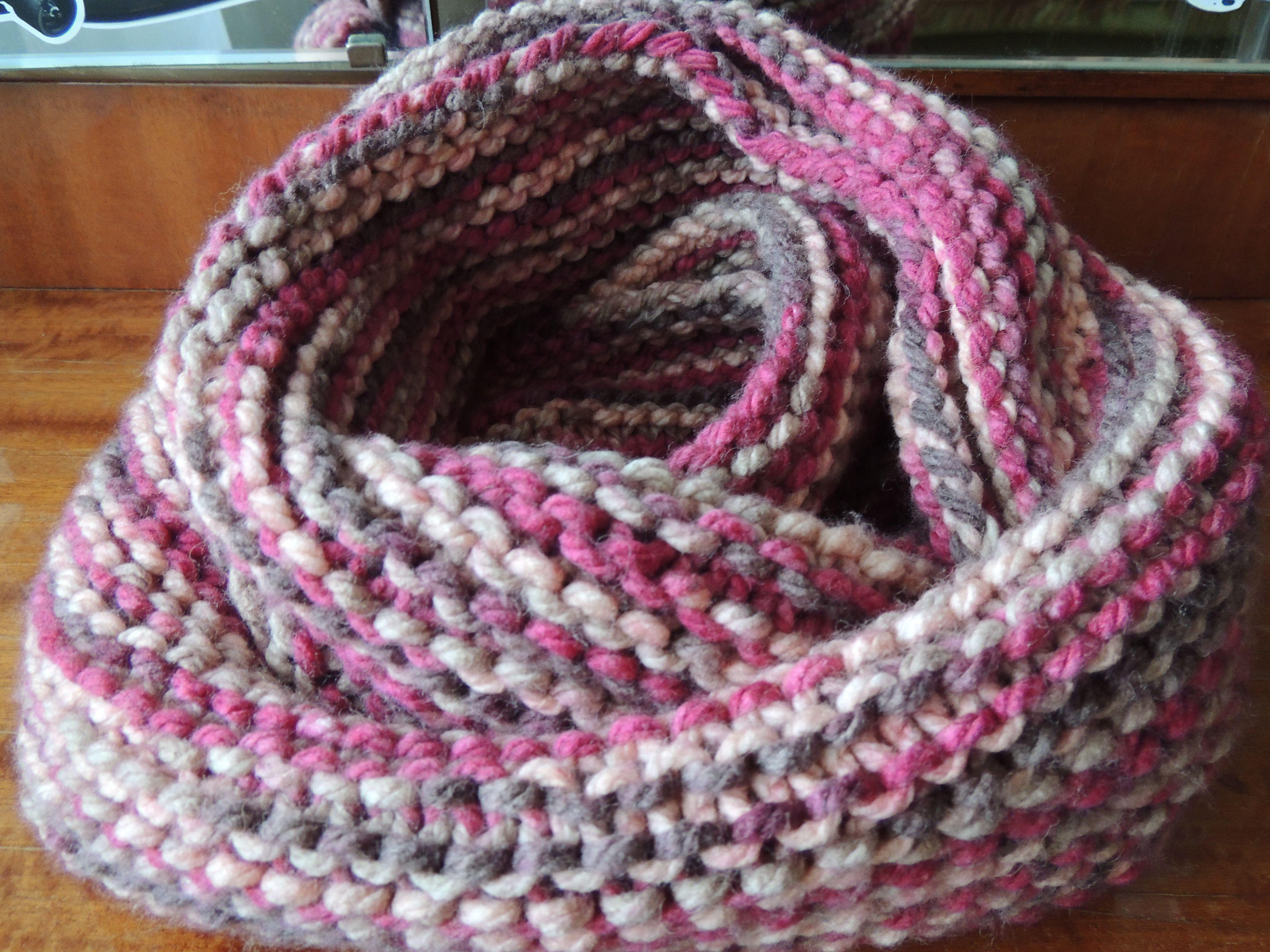 хомут шарф аксессуар женский объемный теплый снуд