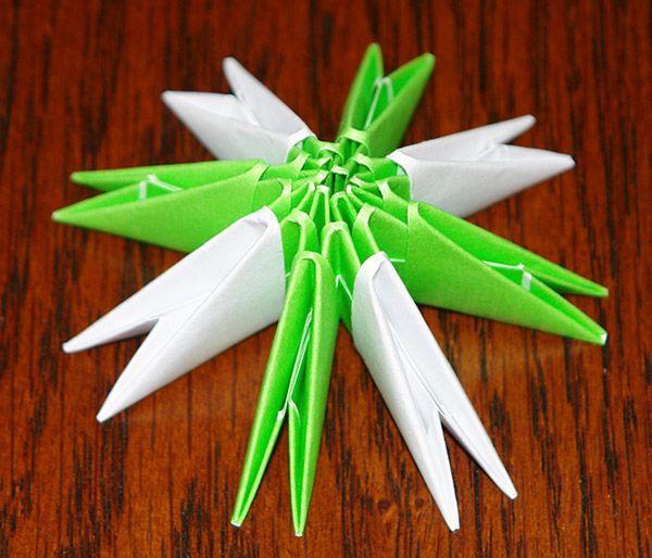 Модульное оригами 3