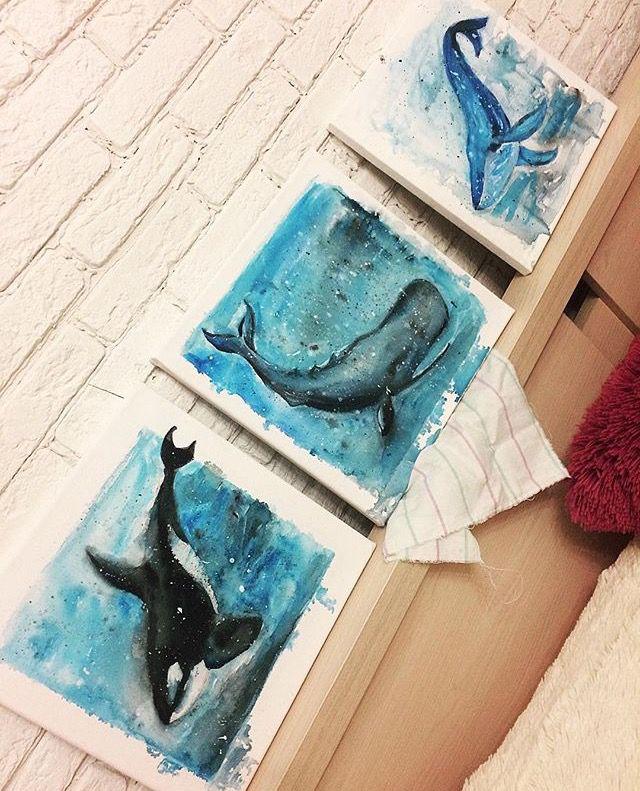 ручнаяработа триптих арт декор работа decor талисман art ручная акрил украшение ange2277 киты хендмейд handmade аксессуар рукоделие подарки творчество
