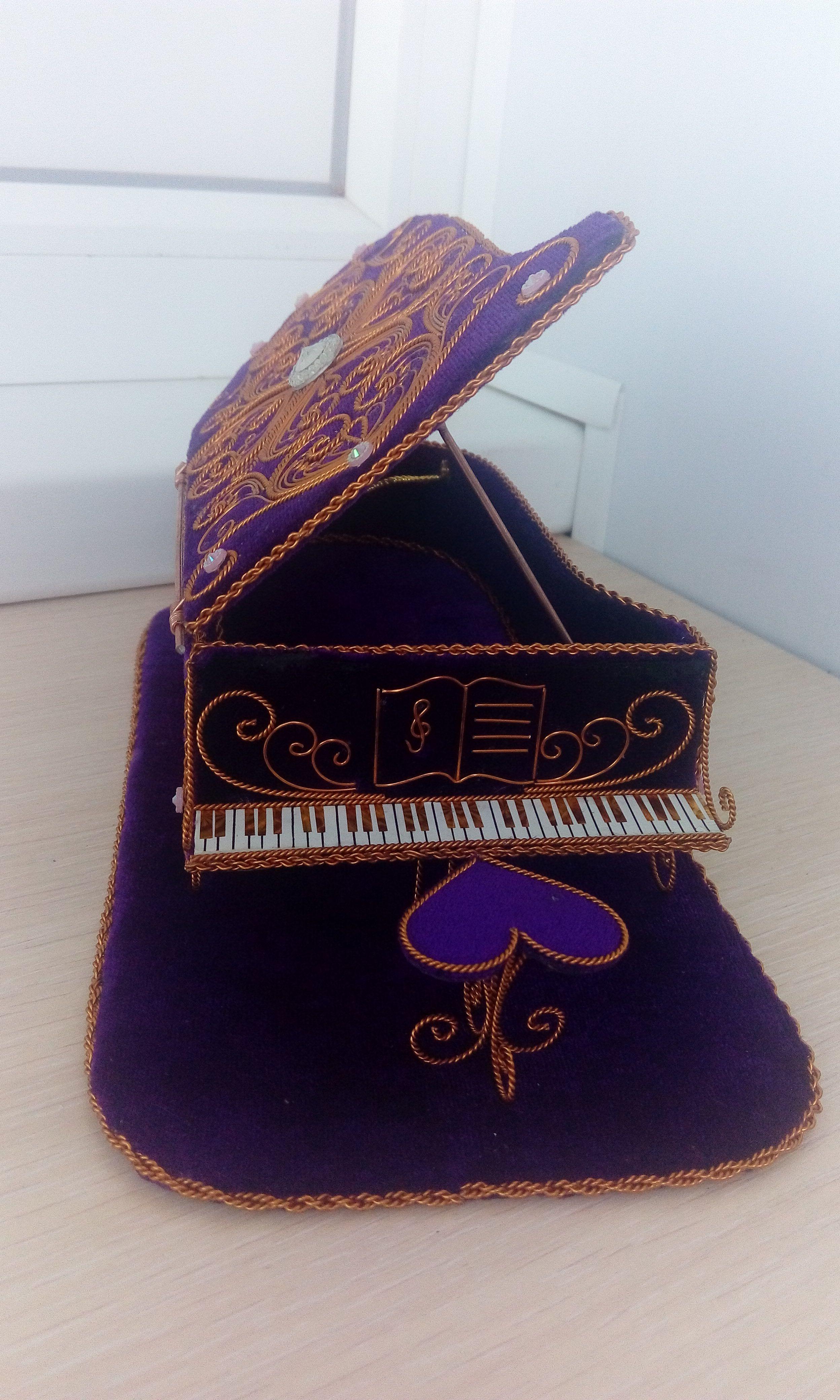 икона рояль ручная работа филигрань скань