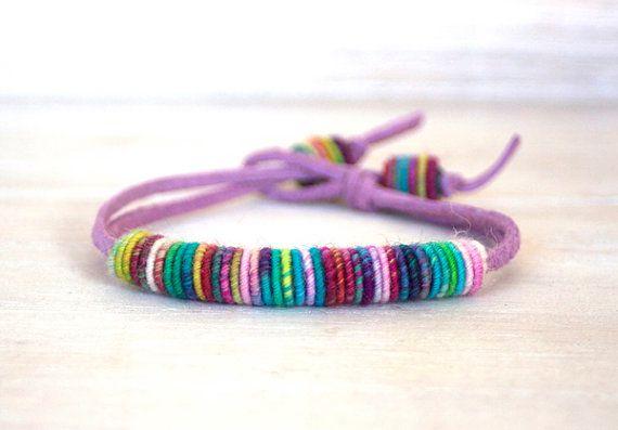 своими бусы подарки вязаные ожерелья браслеты руками сделай сам дети