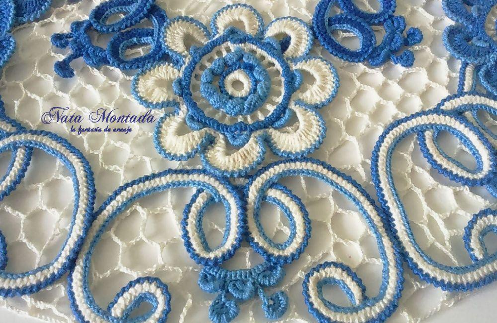 элементы синий подарок работа цветочная ручная экземпляр ирландское 3дэффект воротничок девушке