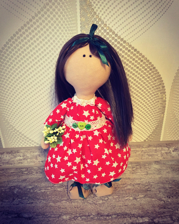 интерьерная подарок кукла декор девочки интерьер тыквоголовка