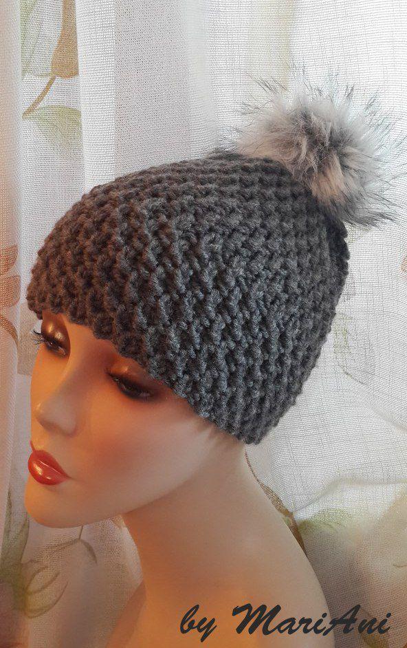 вязание ручнаяработа шапка