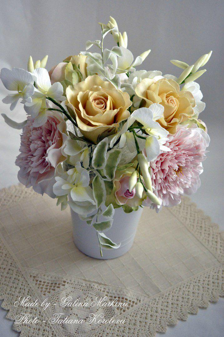 работа букеты ручная композиции хэндмэйд цветы