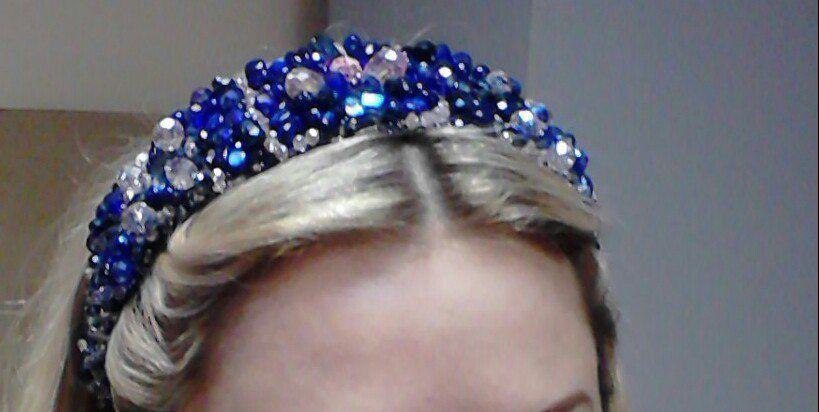 бисер бусины заколка ободок волосы