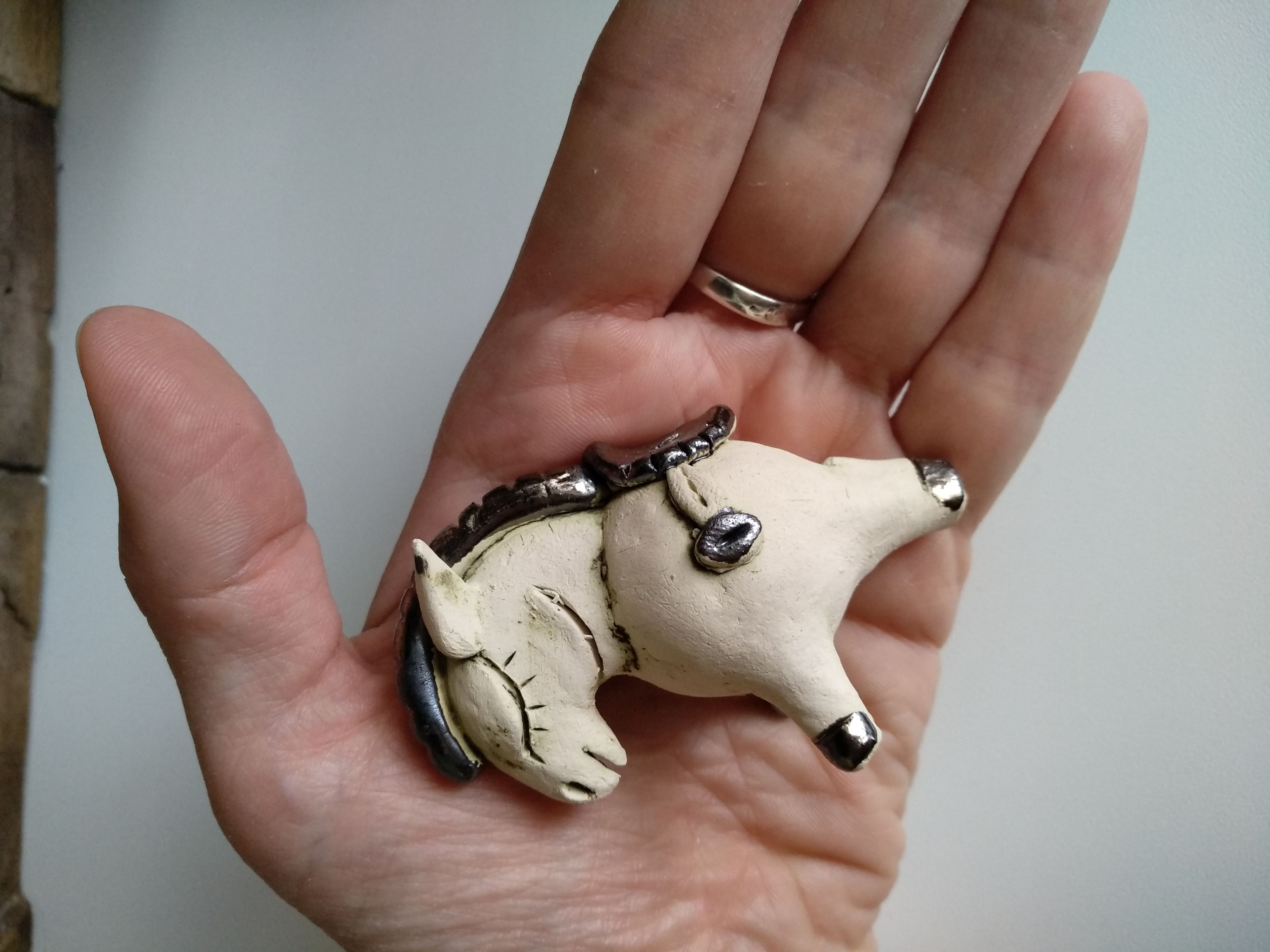 подарок сувенир ослик лошадка пони свистулька