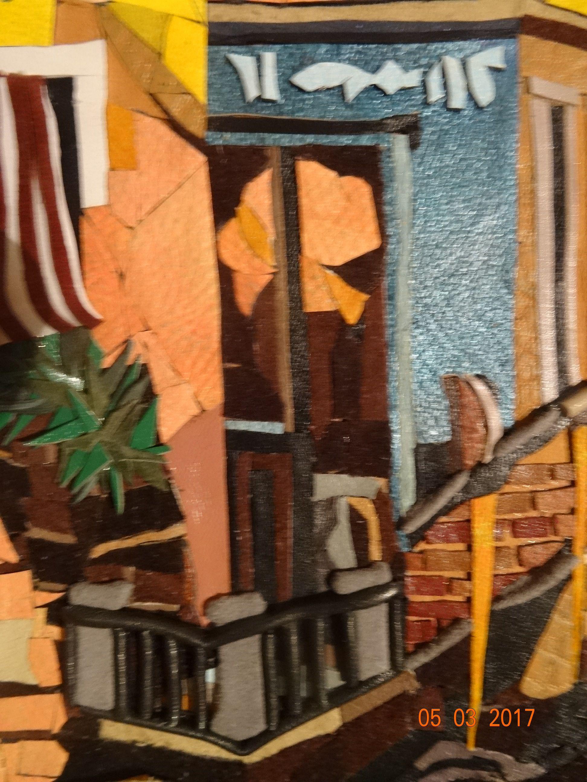 картинаизкожи мозаикаизкожи венеция италия мостывенеции