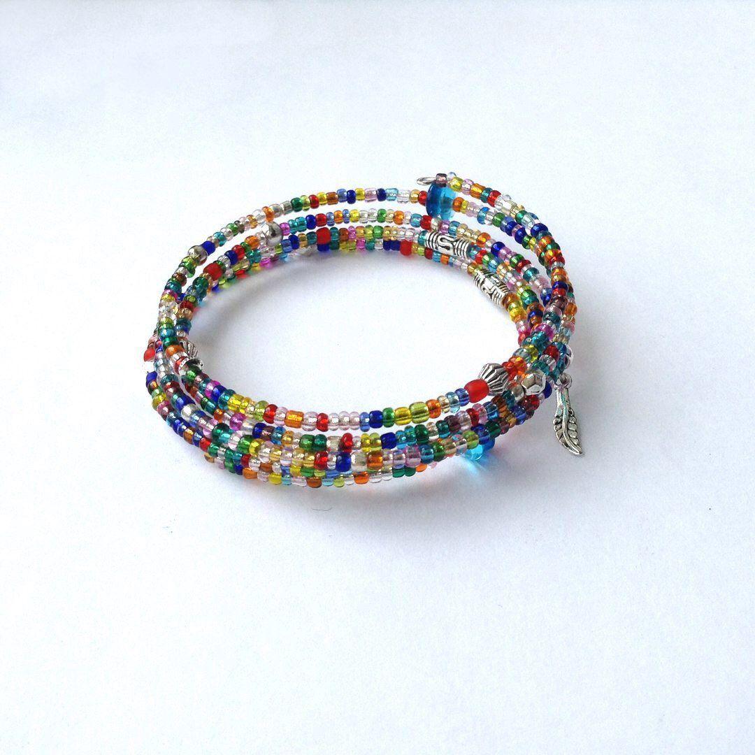 бисер браслет handmade украшения бижутерия