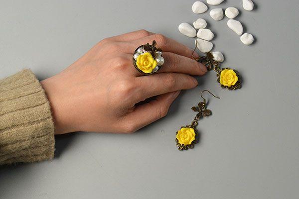 украшения серьги коты бижутерия кольцо идеи подарка руками своими сделай сам