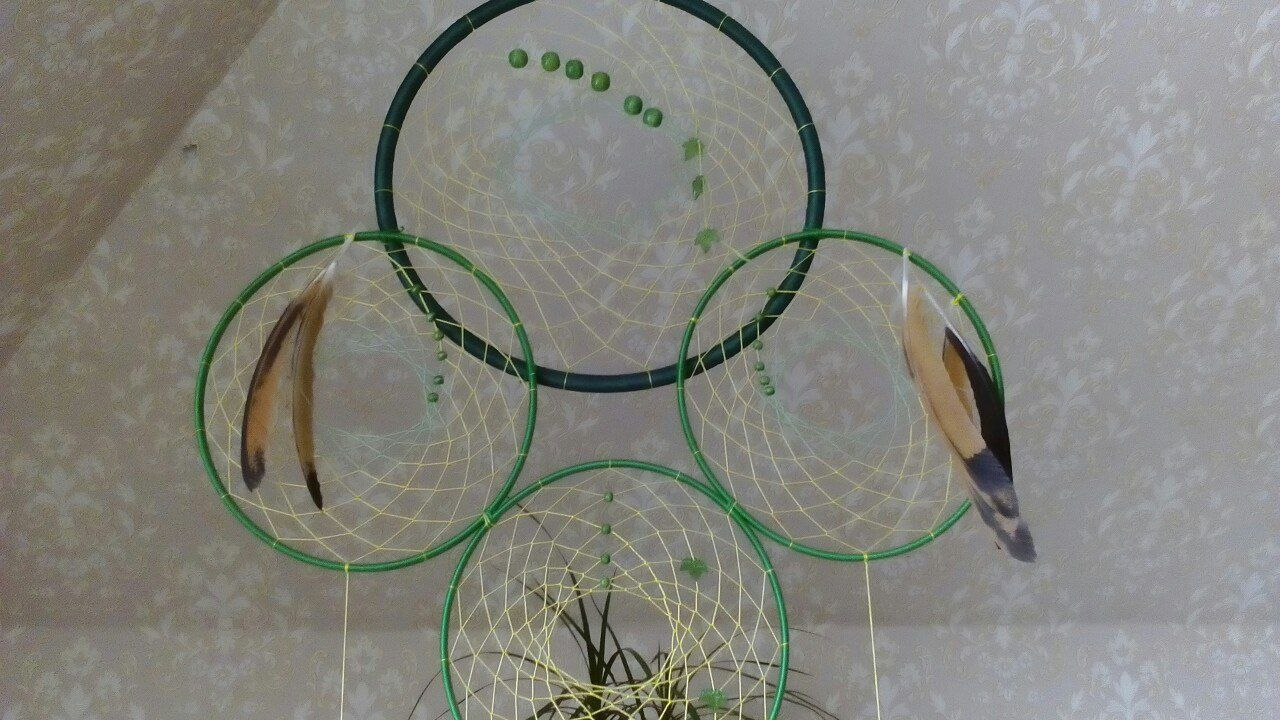 ручнаяработа подарок снов ловец талисман амулет спальня украшение для ловецснов ловушка