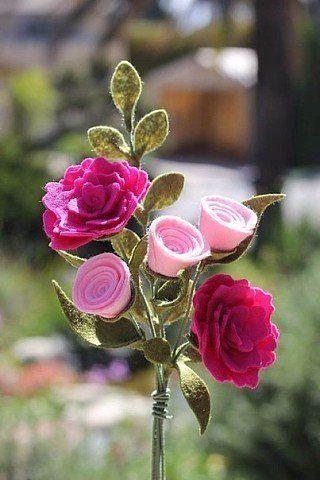 валние шерсти фелтинг мастеркласс цветы