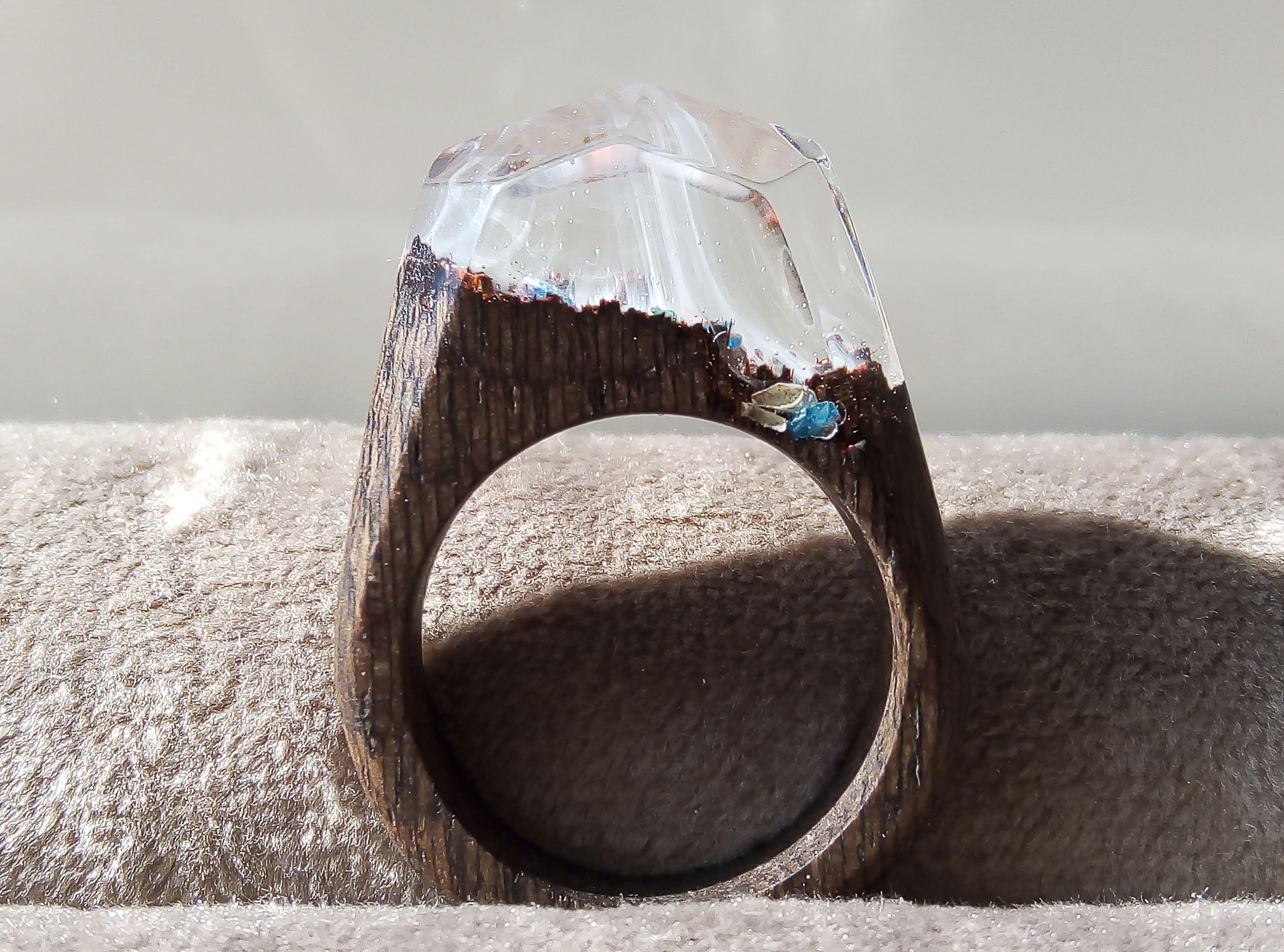 смолы подарок кольцо дерева