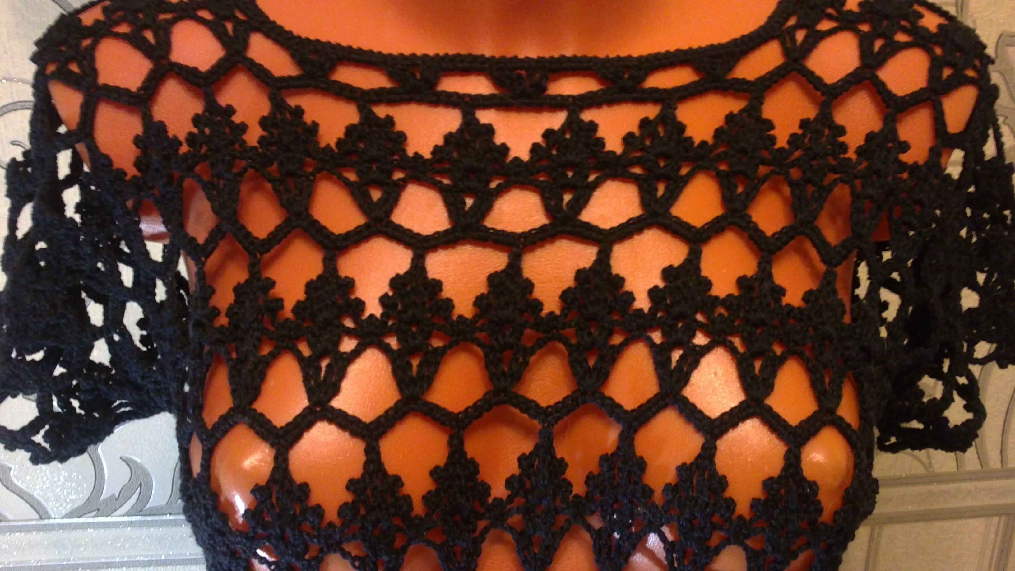 отдыха для платье черное ажурное