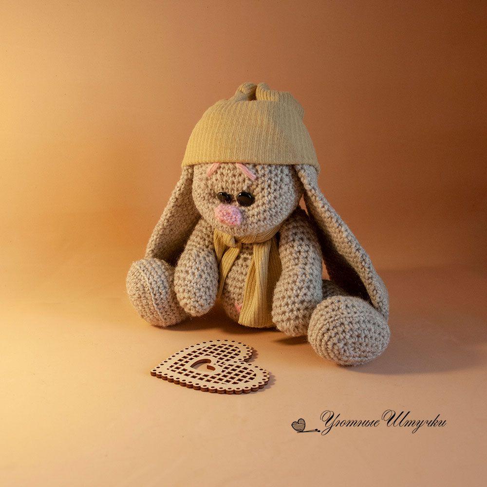 вязаный игрушки подарок милый амигуруми зайка крючком