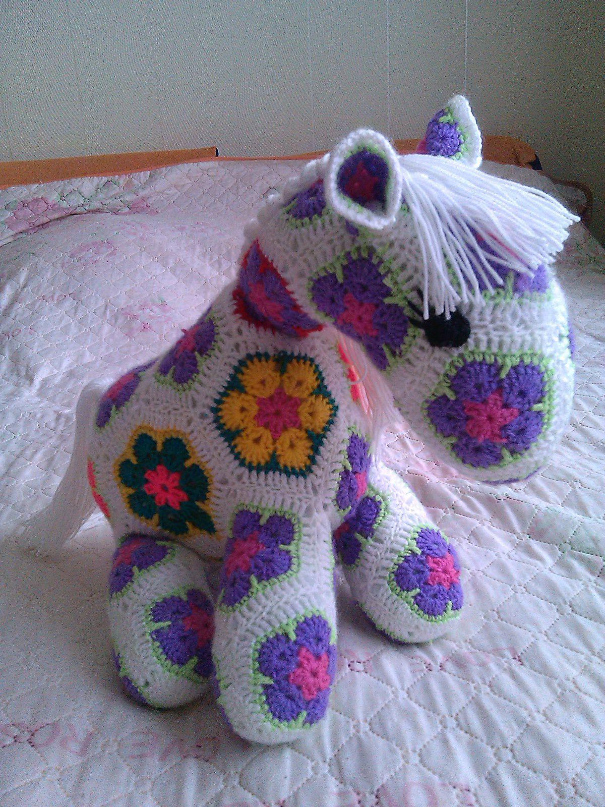 амигуруми лошадкализа игрушки ручнаяработа