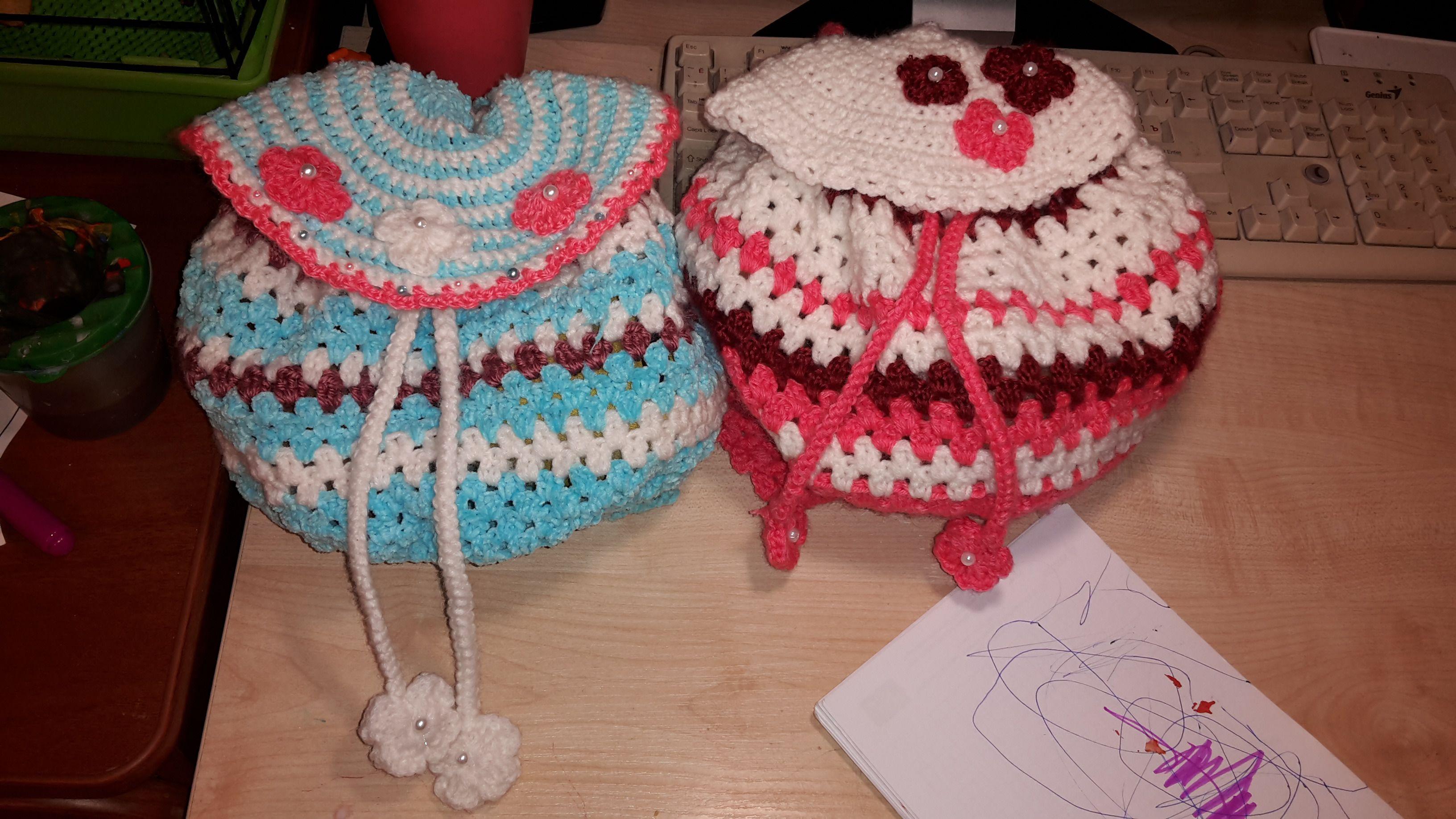 вязание ручная для лето красота модница девочек аксессуар рюкзачок