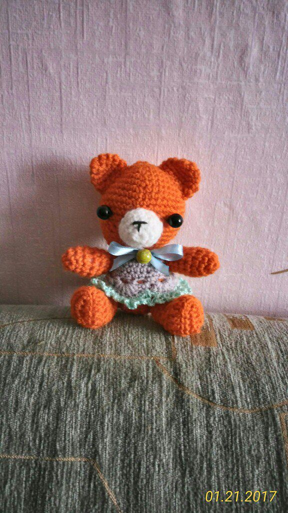 ручнаяработа игрушки подарок крючок вязание handmade мишки дети