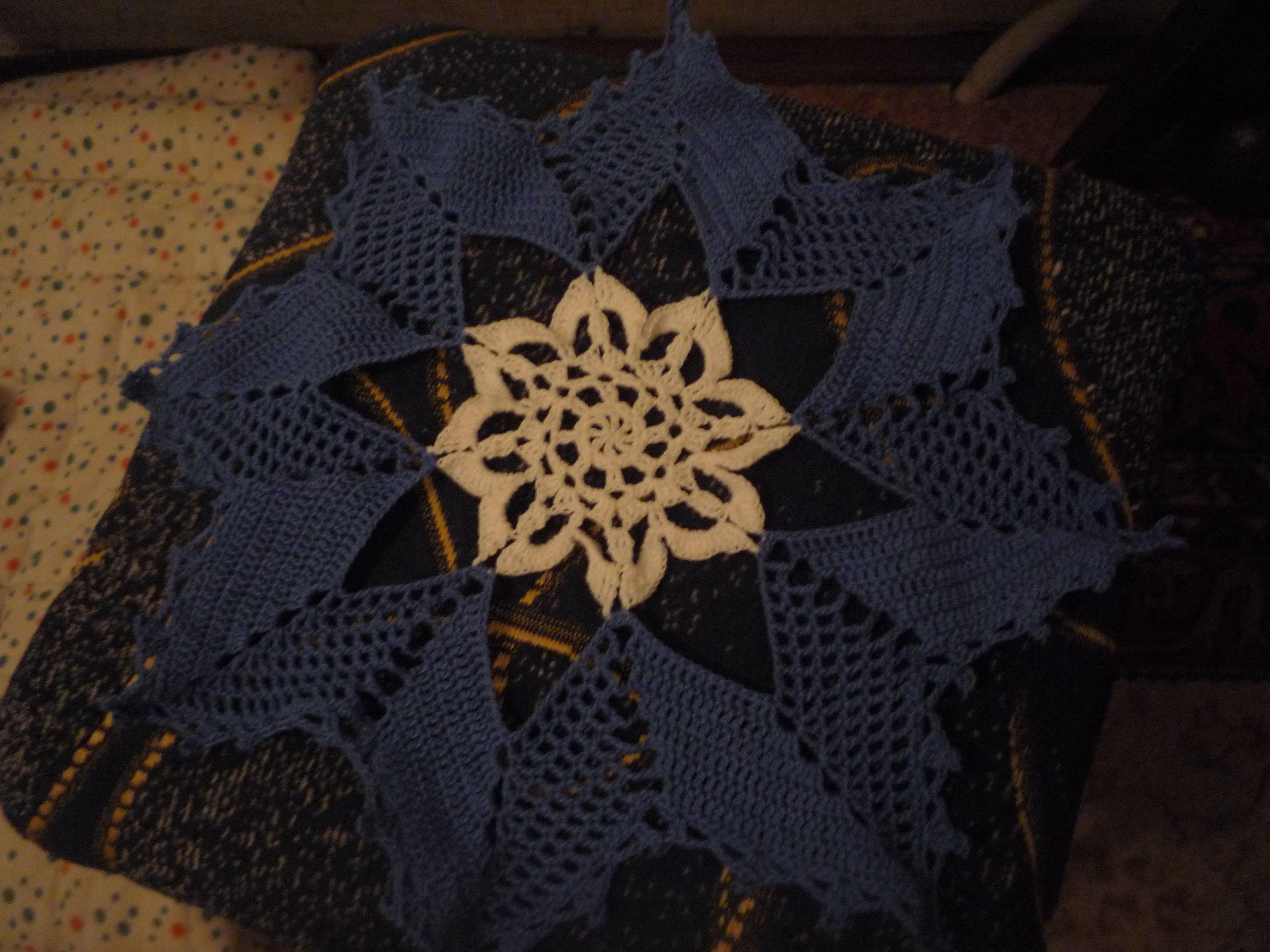 салфетка вязание оливия ажурная