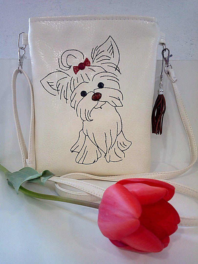 вышивка йорк стильная_сумка