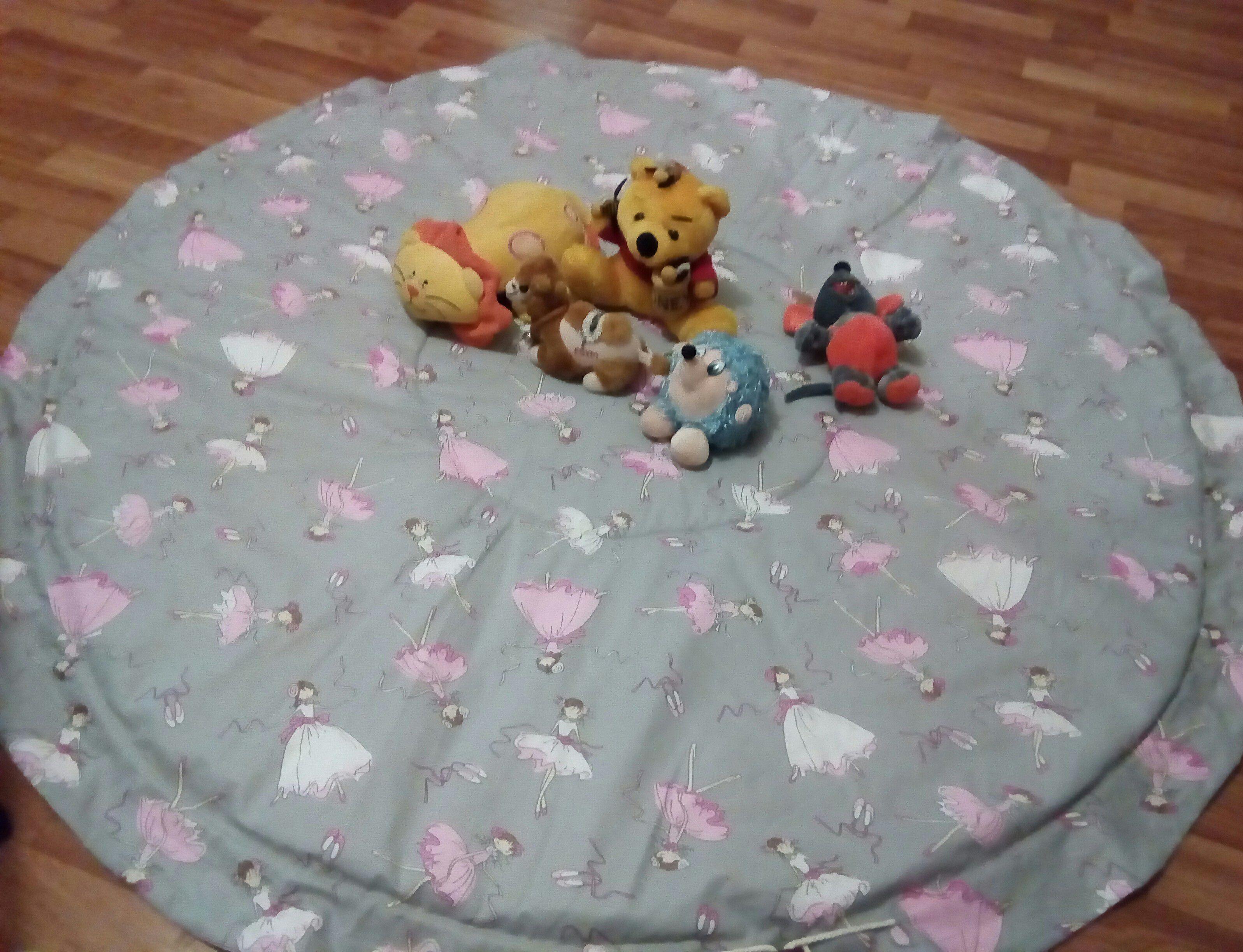 мешок игрушки дети коврик игра