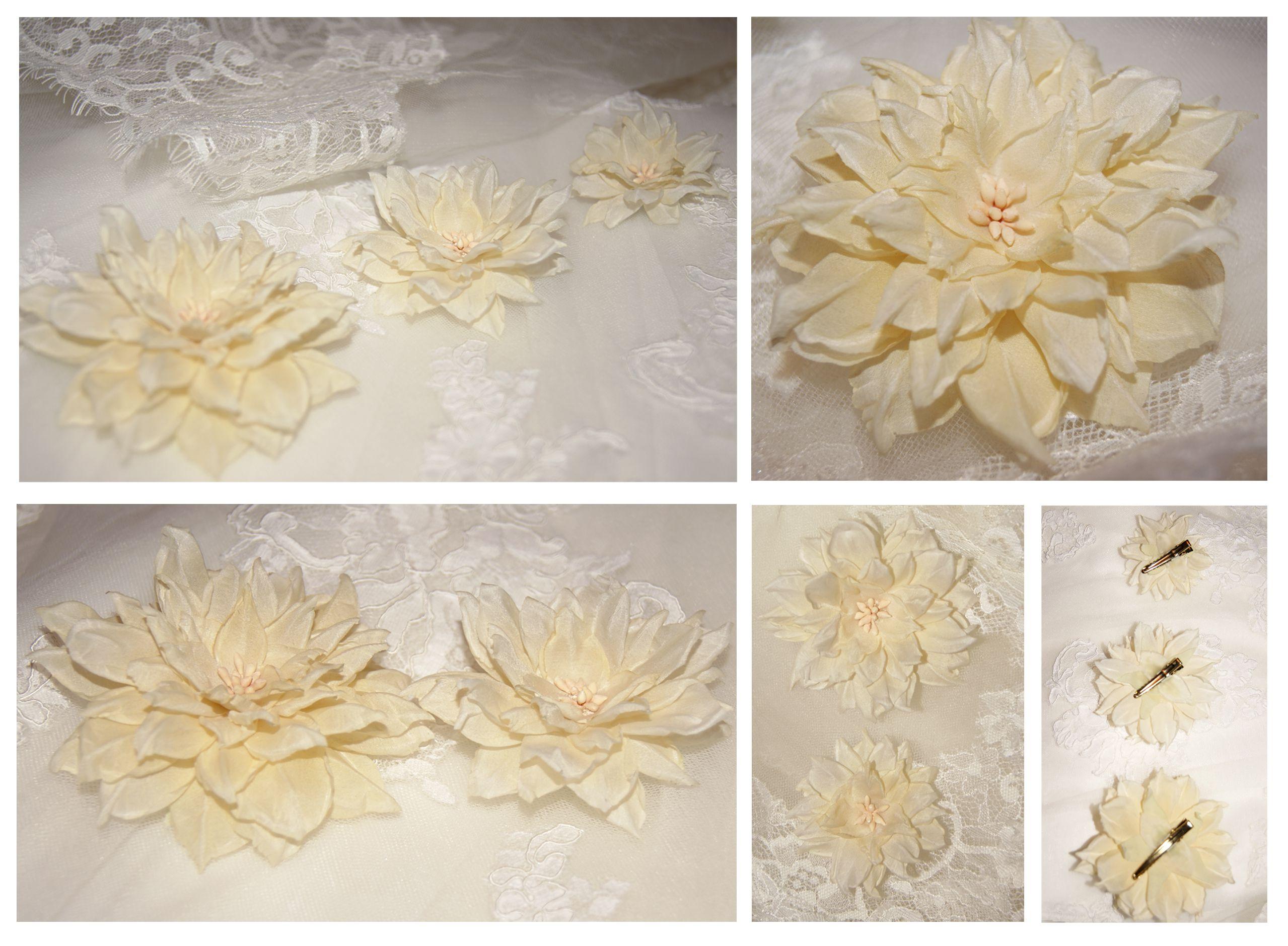 подарок украшение заколки набор цветы свадьба