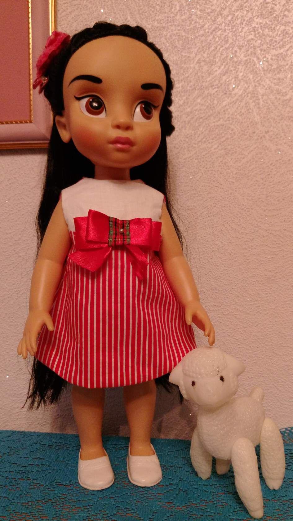 кукольная кукла дисней платье одежда куклу