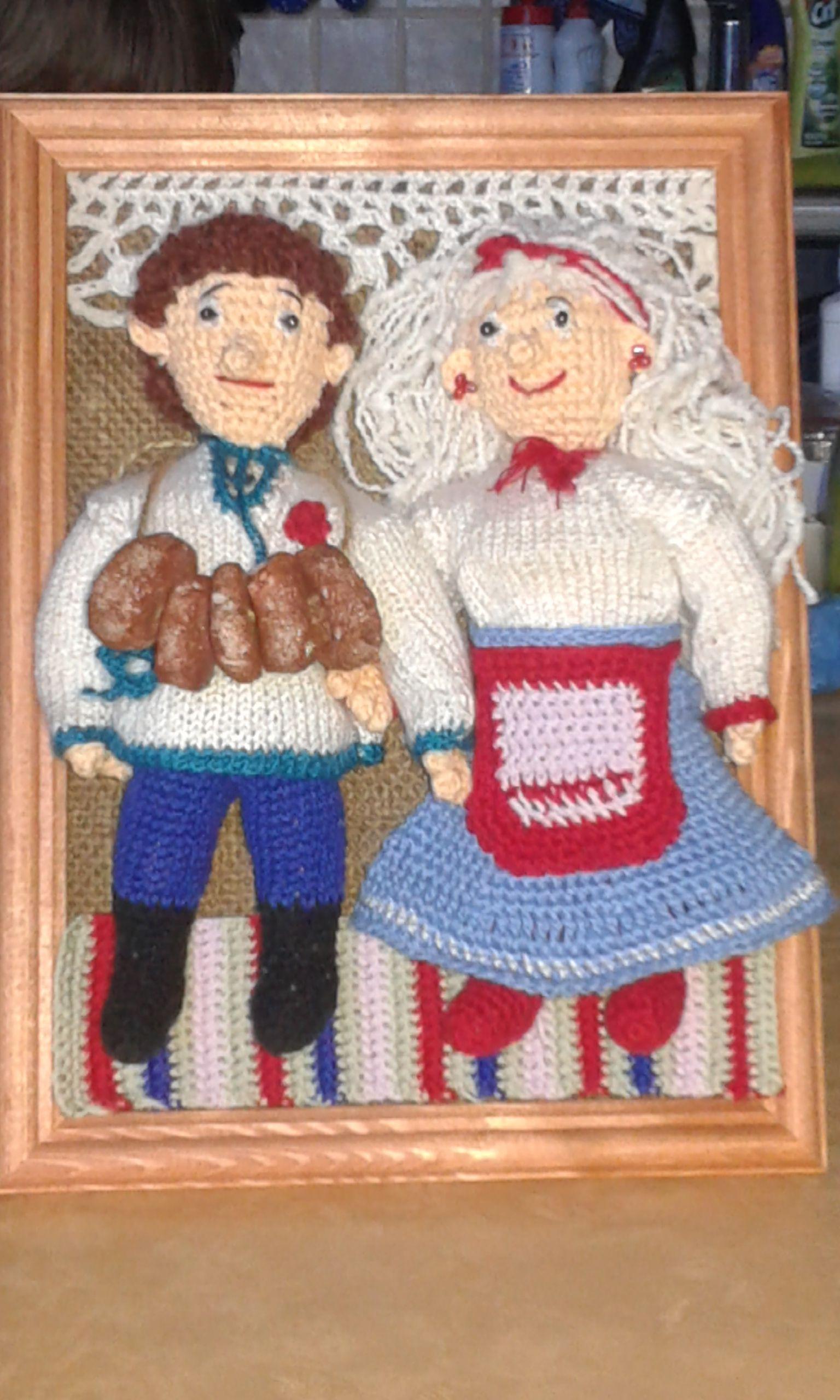картины вязание кухня