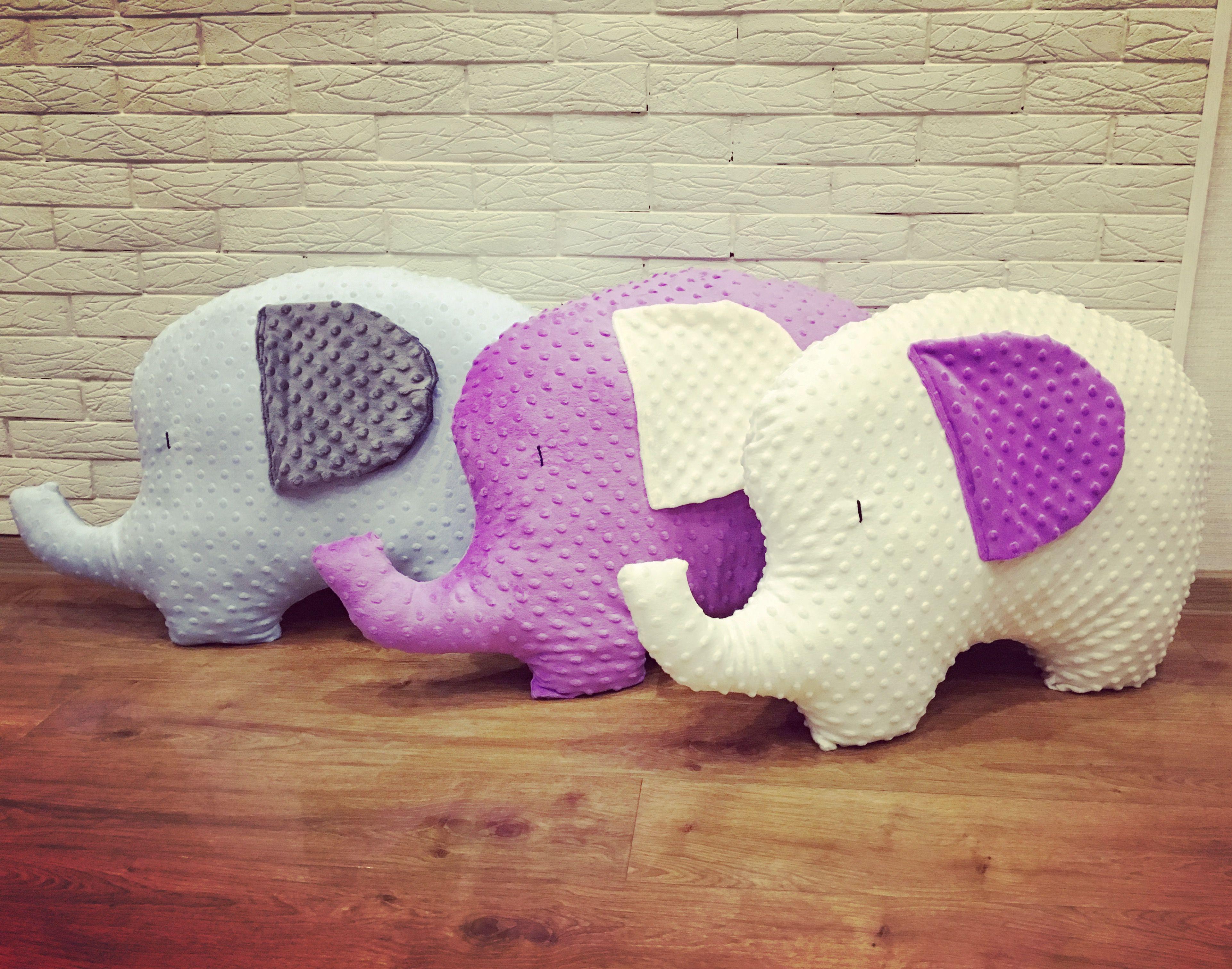 слонподарокдети подушка игрушка