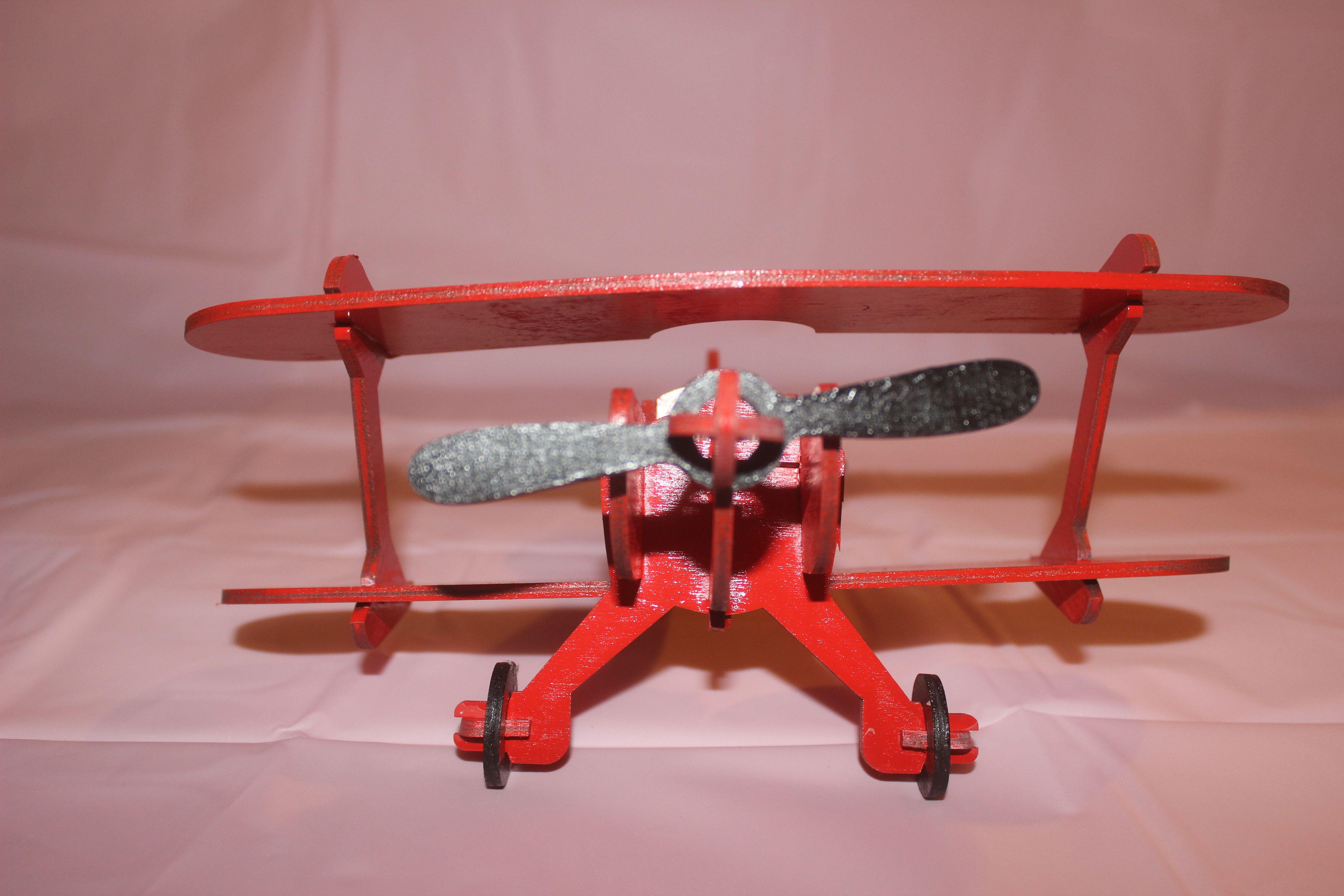 деревянный игрушки детские самолет