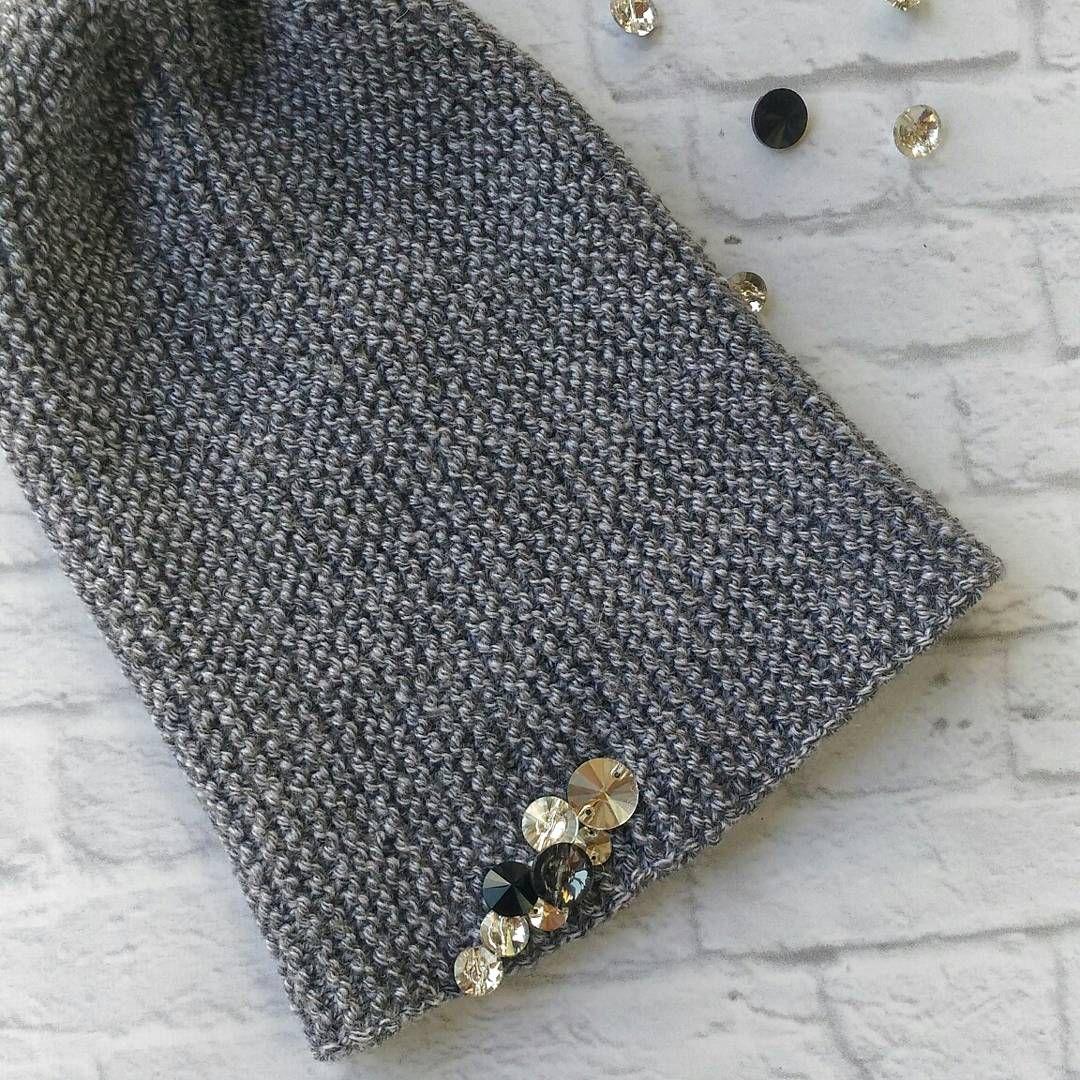 шапка вязаная