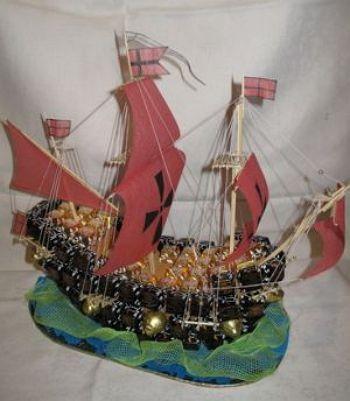 класс конфет из корабль мастер
