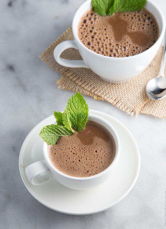 осень сделайсам кулинария вдохновение рецепт зима горячийшоколад рецептгорячегошоколада шоколадныйнапиток горячийнапиток горячийшоколадсмятой мятныйшоколад зимнийнапиток согревающийнапиток мята