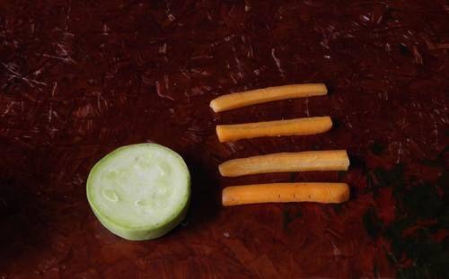 Поделки из овощей 9
