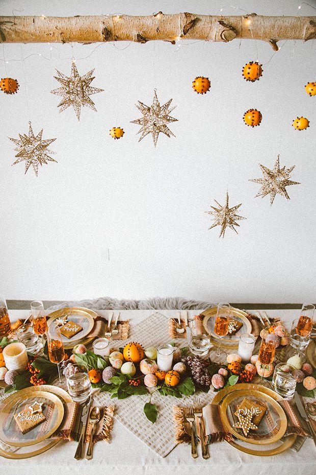 бохо декор новыйгод праздник интерьер застолье