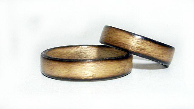 кольцо украшения деревянная свадьба