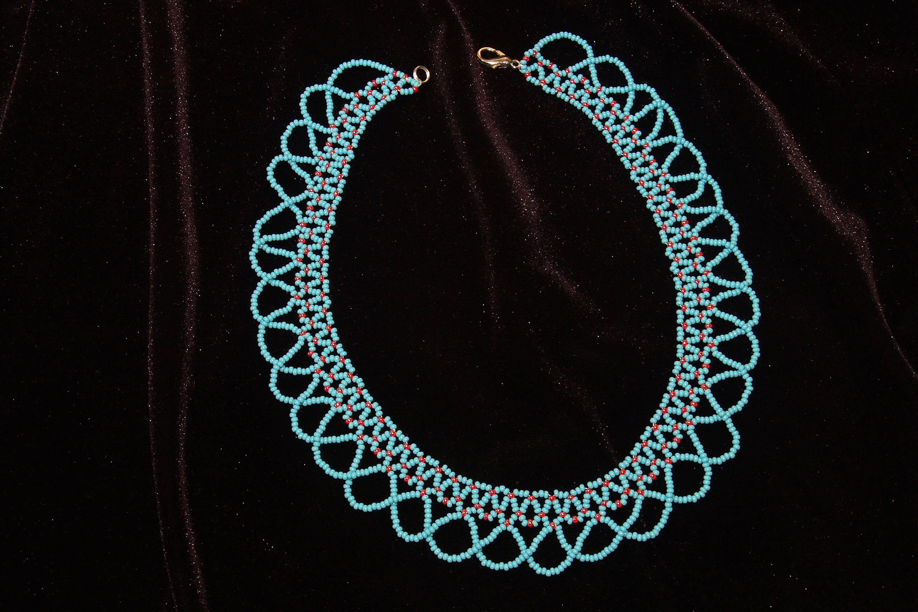 ручнойработы избисера ожерелье бисер аксессуары украшения бусы бижутерия