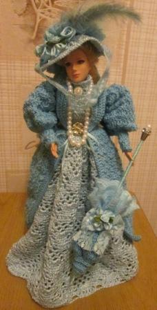 вязание для одежда барби кукол